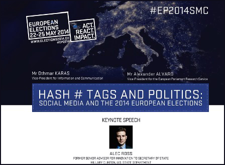 Conference on social media use in the European elections