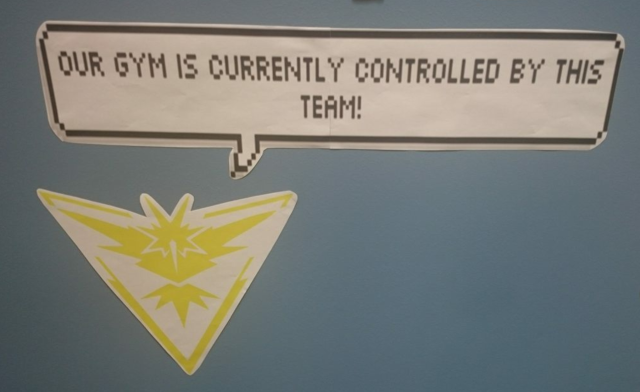 Our Gym is currently controlled by