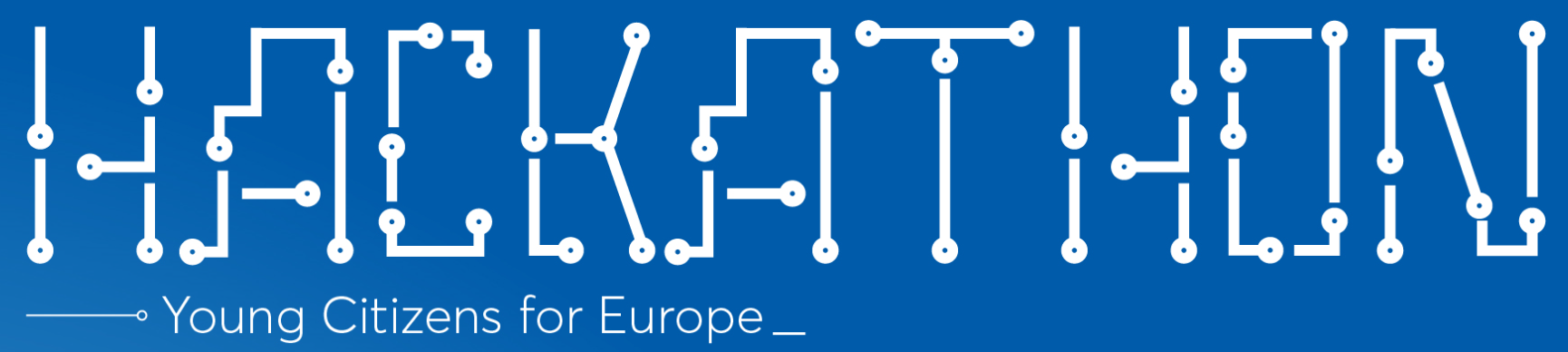 Logo eveniment Hackaton Young Citizens for Europe