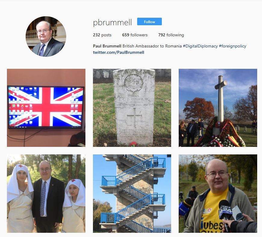 #BritainInRomania: Instagram competition